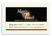 Magic touch - productions company with a twist